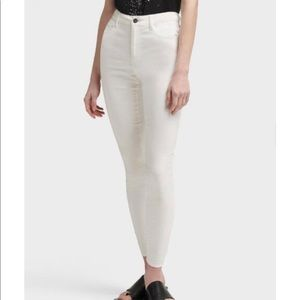 DKNY Jeans 4 White Skinny Ankle Casual Summer